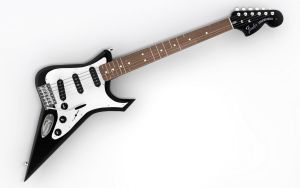fender stratocaster devil mod by TheUncle
