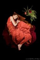 Flaming June by Gilliann
