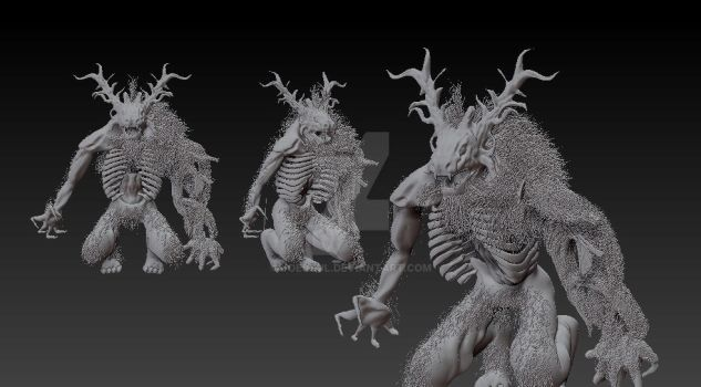ZBrush ClericBloodborne by joescul