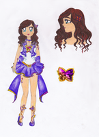 Sailor Ametrine Butterfly by SailorAngelMoon
