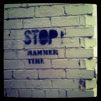 Hammer time by zable666