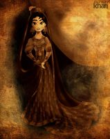 Princess Maariyah in Bride by ArsalanKhanArtist