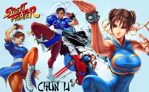 Chun Li wallpaper by Ishily