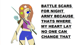 night army fighter by creepyponylover