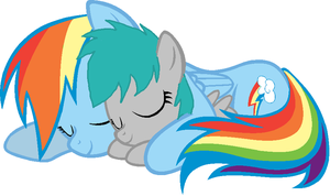 Sister comforts by DerpSkittlez