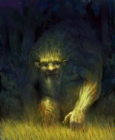 Forest spirit by MikeAzevedo