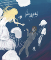 princess jellyfish by SirMittens