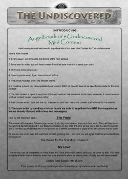 Angelbearlina's Mini Contest by The-Undiscovered
