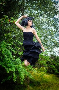 Flying flamenco by Yollanda