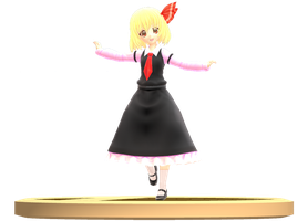 MMD Trophy: Montecore and Predator Rumia by Rea-Usax