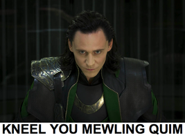 KNEEL YOU MEWLING QUIM by JDLuvaSQEE