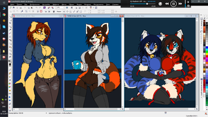 WIPS NL2015 p3 (#245 #246 #247) by McTranceFox