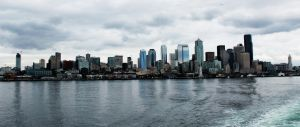 Seattle by MandaIrene