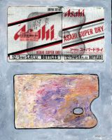 Palette and Asahi by JimmyMcCullough