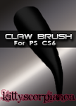 Claw brush by KittyScorpiaNoa by Autumns-Muse