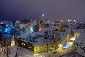 Tallinn's Old Town by Juhan