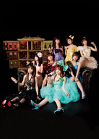 Morning Musume Cell Phone Wall by HoneyMango