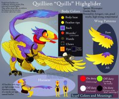 Quillion Character Sheet by FablePaint