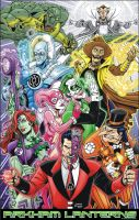 arkham lanterns full color by CharlesEttinger