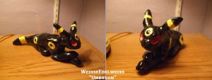 Ceramic Umbreon by WeisseEdelweiss