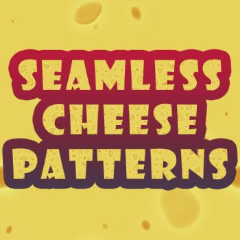 Seamless Cheese Patterns by Grasycho