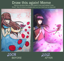 Before and After Meme by ax-colleen by Usagi-Himeko