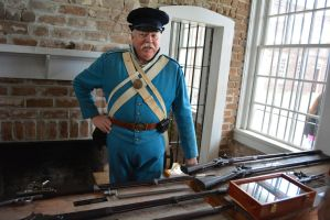 1830s-1840's American Uniform and guns at Fort by ENT2PRI9SE