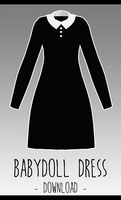 Baby Doll Dress [ DOWNLOAD  ] by Aia-Aria