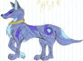 Blue Da Wolf by CaptainFluffy
