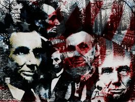 Abraham lincoln tribute by BurgandyRoses