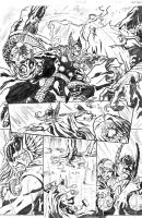 Thor and RedSonja2 by wendellcavalcanti