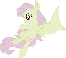 Flutterbat vector: hello there by shaynelleLPS