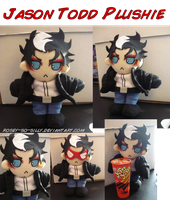 Batman- Jason Todd Plush by rosey-so-silly