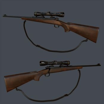 Hunting Rifle by sumutf