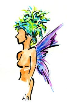 Faerie 2 by Mandrie