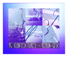 15 icon textures - snowfall lullaby by remon-gfx