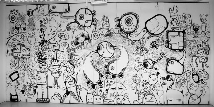 10.10.07 doodle sessions by goks