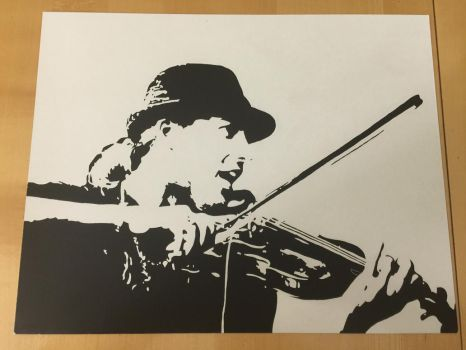 David Garrett Kratzbild/ Scratchboard by Ela0104