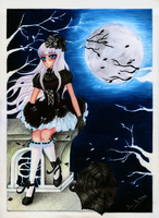 Gothic Lolita contest entry :3 by Dido-Antares