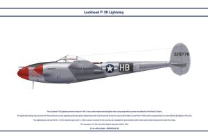 P38J USAAF 96th FS 1 by WS-Clave