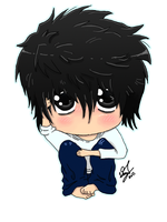 Death Note: Chibi L by Kazzeru