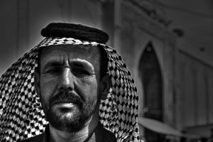 Angry man in kerbala by Anmar-Studio