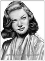 Lauren Bacall by Anne86