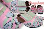 Pastel Kitty Brogues by ponychops