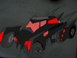 ULTIMATE BATMOBILE REVAMP! by HINCAPIE319