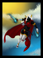 Commission - Superhero by LoveOrBeKilled