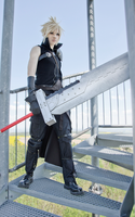 Cloud Strife FF7 AC cosplay I by Akitozz6