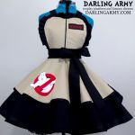 Ghostbusters Cosplay Pinafore Dress by DarlingArmy