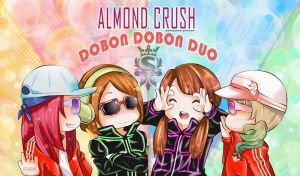 Almond Crush X Dobon Dobon Duo by XOtakumiX