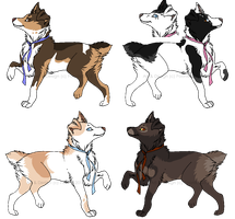 Adoptable Mutt Dawgs - CLOSED by PoonieFox